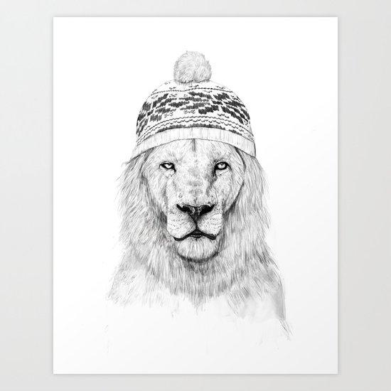 Winter is coming 2 Art Print