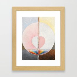 Hilma af Klint, Group IX/UW No. 25, The Dove, No. 1 Framed Art Print