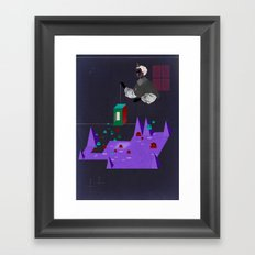 Release Framed Art Print