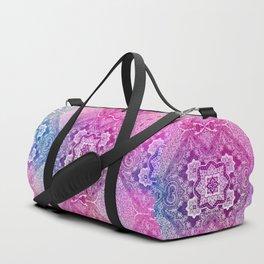 the big pink of 4 diamonds Duffle Bag