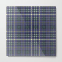 Scottish plaid 5 Metal Print