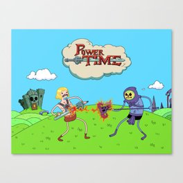 Power Time Canvas Print
