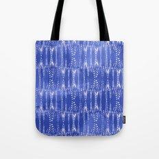 Dot Print - Periwinkle Tote Bag