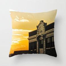 Palace Theatre Sunset Throw Pillow