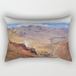 Tongariro Alpine Crossing Rectangular Pillow