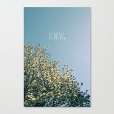 Renew Canvas Print
