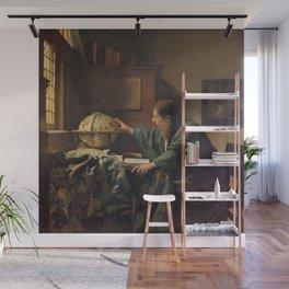 Johannes Vermeer's The Astronomer Wall Mural