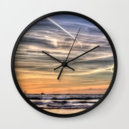 Pacific Sunset Wall Clock