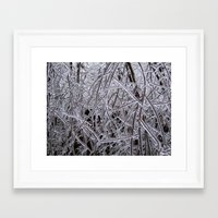 diamonds Framed Art Prints featuring Diamonds by Doreen Cook-Wottring