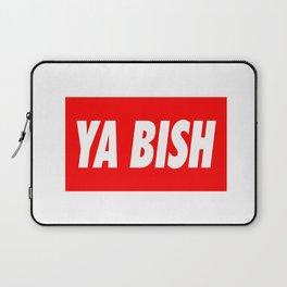 Ya Bish Typography Laptop Sleeve