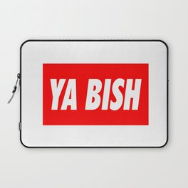 Ya Bish Typography Laptop Sleeve