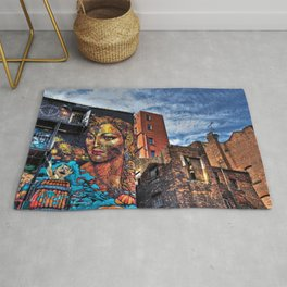 Colourful MANchester Rug