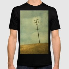 The Joy Of Division Black SMALL Mens Fitted Tee