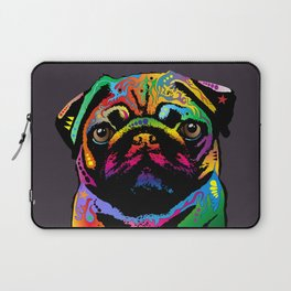 Pug Dog Laptop Sleeve