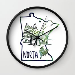 Northland Love Wall Clock