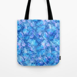 Frozen Leaves 29 Tote Bag