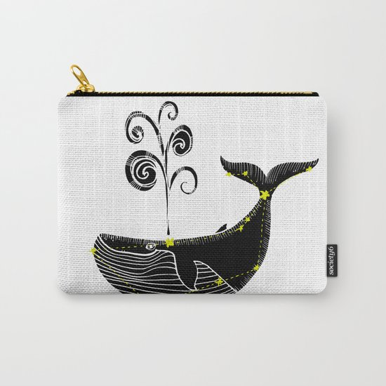 Whale Constellation Carry-All Pouch