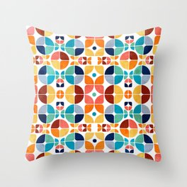 2015 Pattern Collection: Spring II Throw Pillow