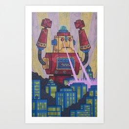 Cocoa's Revenge Art Print