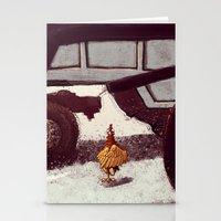 chicken Stationery Cards featuring Chicken by Javio