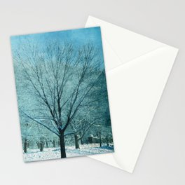Morning Frost Stationery Cards