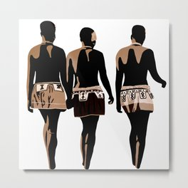 zulu sisters Metal Print