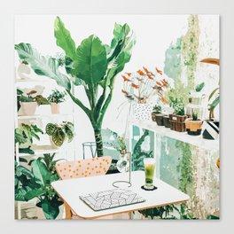 Junglow #illustration #decor Canvas Print