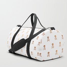 ROSE GOLD SKULLS ALL OVER PRINT LARGE Duffle Bag