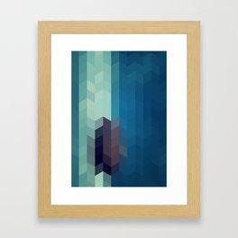 OCEAN STAR Framed Art Print