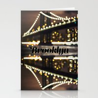 brooklyn Stationery Cards featuring Brooklyn by Isabel Lee Art