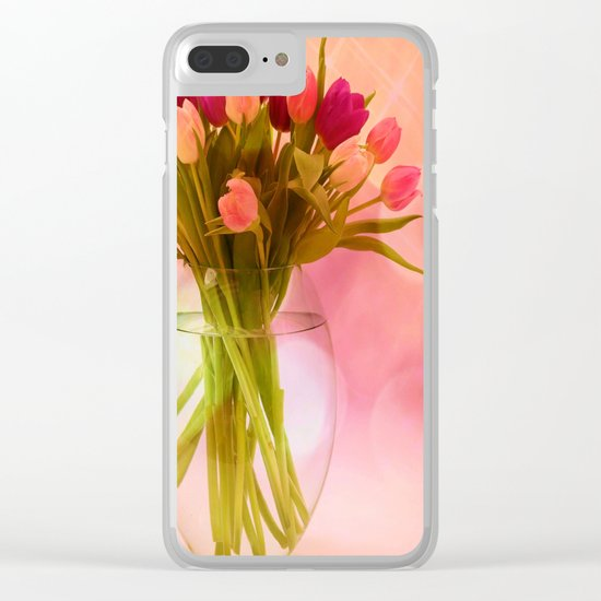 A Bloom for Spring Clear iPhone Case