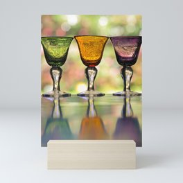 Wine Glasses Mini Art Print