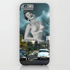 Laughing woman iPhone 6s Slim Case