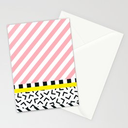 Memphis pattern 84 Stationery Cards