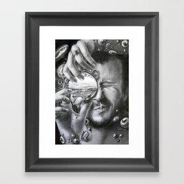 Unocular transition Framed Art Print
