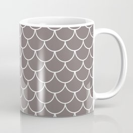 Warm Gray Scales Coffee Mug