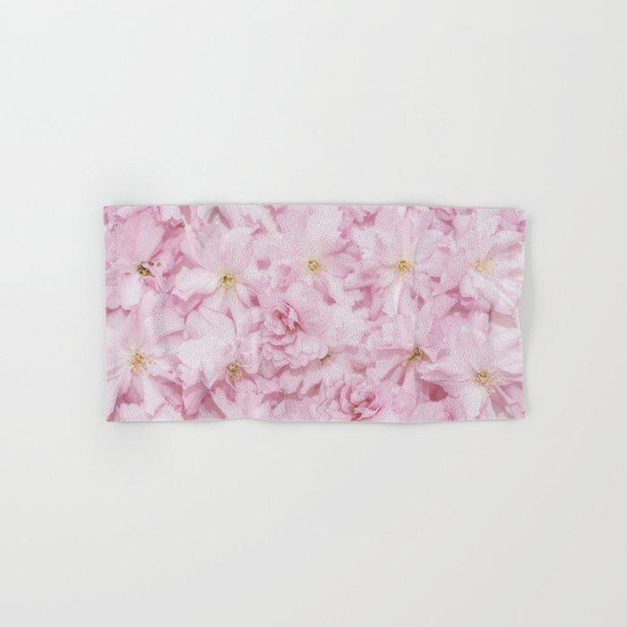 Sakura- cherryblossoms pattern Hand & Bath Towel