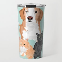 Henry Margot and Sushi Travel Mug