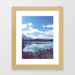 No-Way mirror Framed Art Print