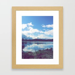 No-Way mirror Framed Art Print