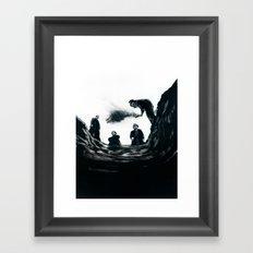 The Saddest Ditch Framed Art Print