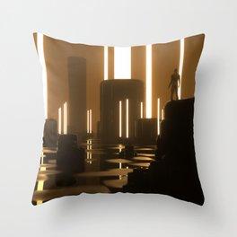 SMOG Throw Pillow