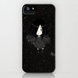 Alexia Chan in the middle of the galaxy iPhone Case