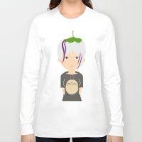 ghibli Long Sleeve T-shirts featuring Fan Girl Ghibli by Creo tu mundo