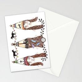 Tipi Party Stationery Cards