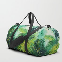 Rainforest Lights and Shadows Duffle Bag