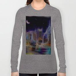 Starry Night New York City Long Sleeve T-shirt