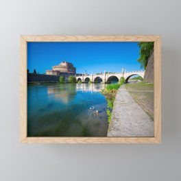 Castel Sant'Angelo - Rome Framed Mini Art Print