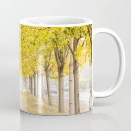 Walking under the trees in Autumn I Coffee Mug