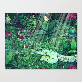 Death and Consequence Canvas Print